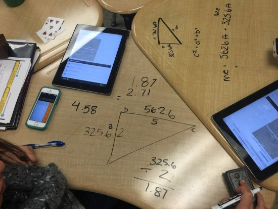 Student Exemplars Non-Permanent Surface - Taco Cart Pythagorean Theorem 1