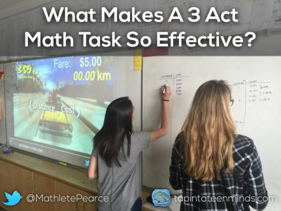 What Makes A 3 Act Math Task So Effective
