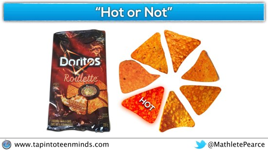 Fraction Constructs - Part-Part Relationship - Doritos Roulette