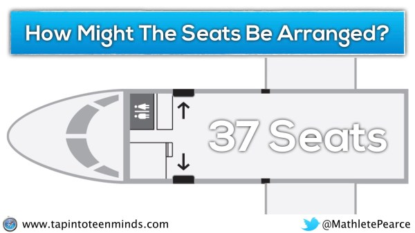 Airplane Task - Second Air Canada Plane Alternative Question - How might the seats be arranged