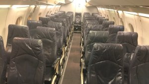 Airplane Task - Second Air Canada Plane - Act 3 Showing Seats