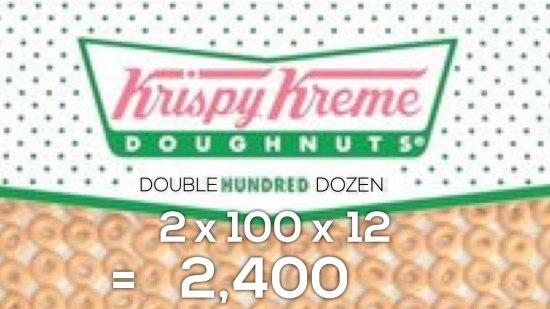 Krispy Kreme Donut Delight Act 2 Scene 2 - 2400 Donuts