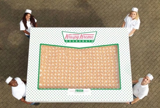 Krispy Kreme Donut Delight - Double Hundred Dozen Image