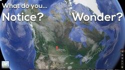 Area of Saskatchewan 3 Act Math - What Do You Notice? Wonder?