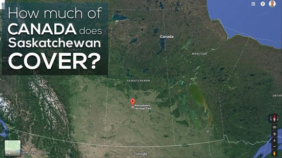 Area of Saskatchewan 3 Act Math How Much of Canada Does Saskatchewan Cover?