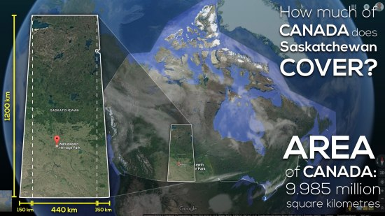 Area of Saskatchewan 3 Act Math Act 2 Dimensions of Saskatchewan