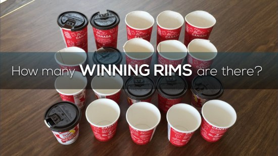 Roll Up The Rim Canada 150 3 Act Math Task.004 How Many Winning Rims are there?
