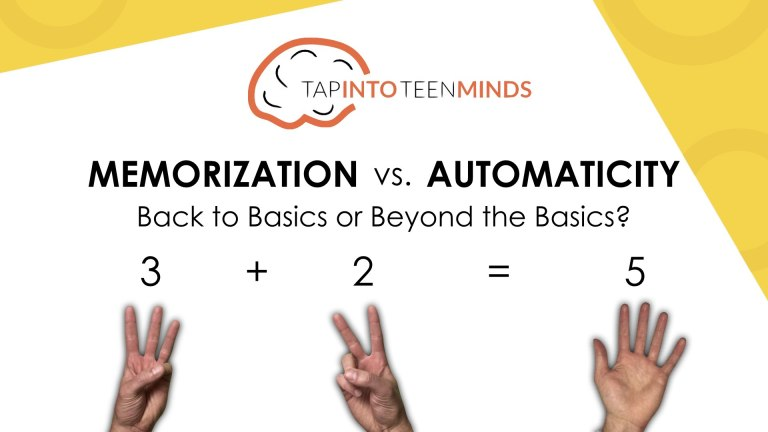 Memorization vs. Automaticity: Back to Basics or Beyond the Basics?