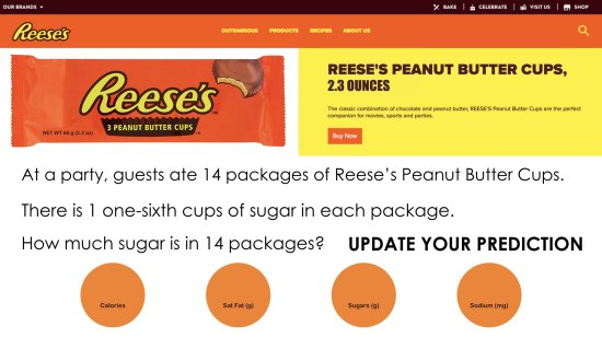 Why The Unit of Measure Matters.002 - Reeses 3 Act Task With Unit Fraction Language