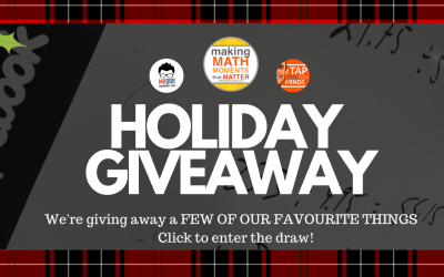2018 Winter Holiday Math Moments Giveaway!