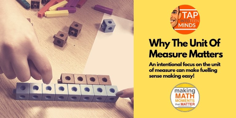 Why The Unit Of Measure Matters