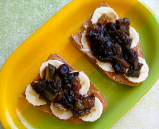 Delicious with PB and banana!