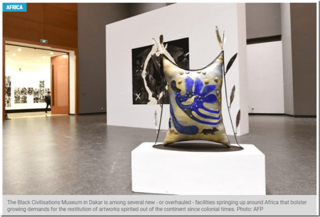 Black Civilisations Museum Offers A New View Of Africa - Star2-com 12-12-2018 19-38-54