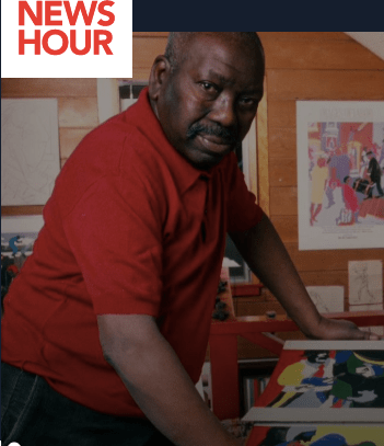 How painter Jacob Lawrence reframed early American history with 'Struggle'By Jared Bowen, WGBH
