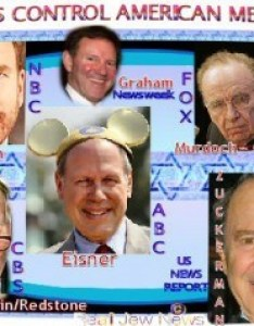 We control congress the media show biz and everything in america you can criticize god but   also six jewish companies of world  rh tapnewswire