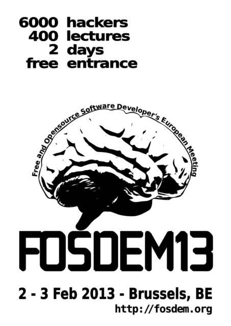 FOSDEM 2013