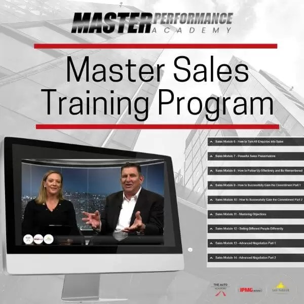 Master Sales Training Program