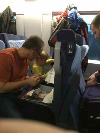 Taking kids on the train doesn't need to be awful. Being prepared, doing the math and booking in advance are the best way to travel.