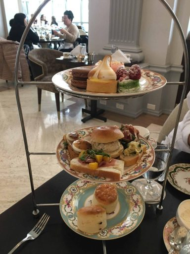 Afternoon Tea at Chateau Laurier