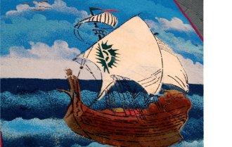 1996-Una barca sulla via Francigena