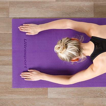 materassino yoga 6mm Ultrasport pratica