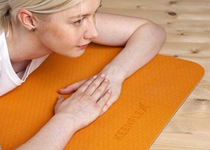 tappetino antiscivolo yoga Keenflex arancio