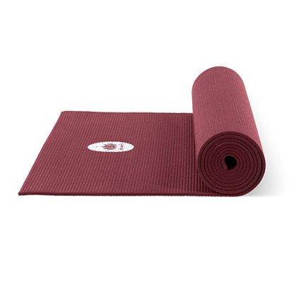 tappetino da yoga antiscivolo mudra studio bordeaux lotuscrafts