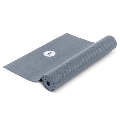 tappetino da yoga antiscivolo mudra studio grigio