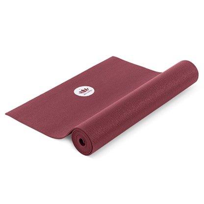 tappetino da yoga antiscivolo mudra studio bordeaux