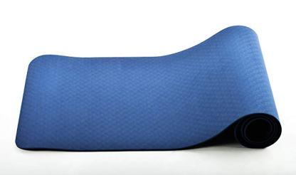 tappetino TPE ecologico JAS Namaste 6mm blu