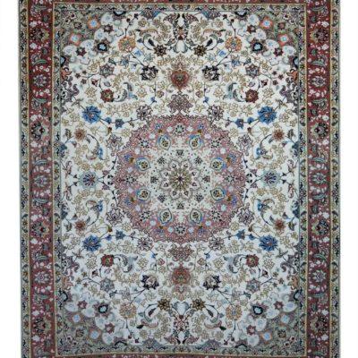 tabriz 60 r , wool and silk , 200 150 cm offer €.2800,00