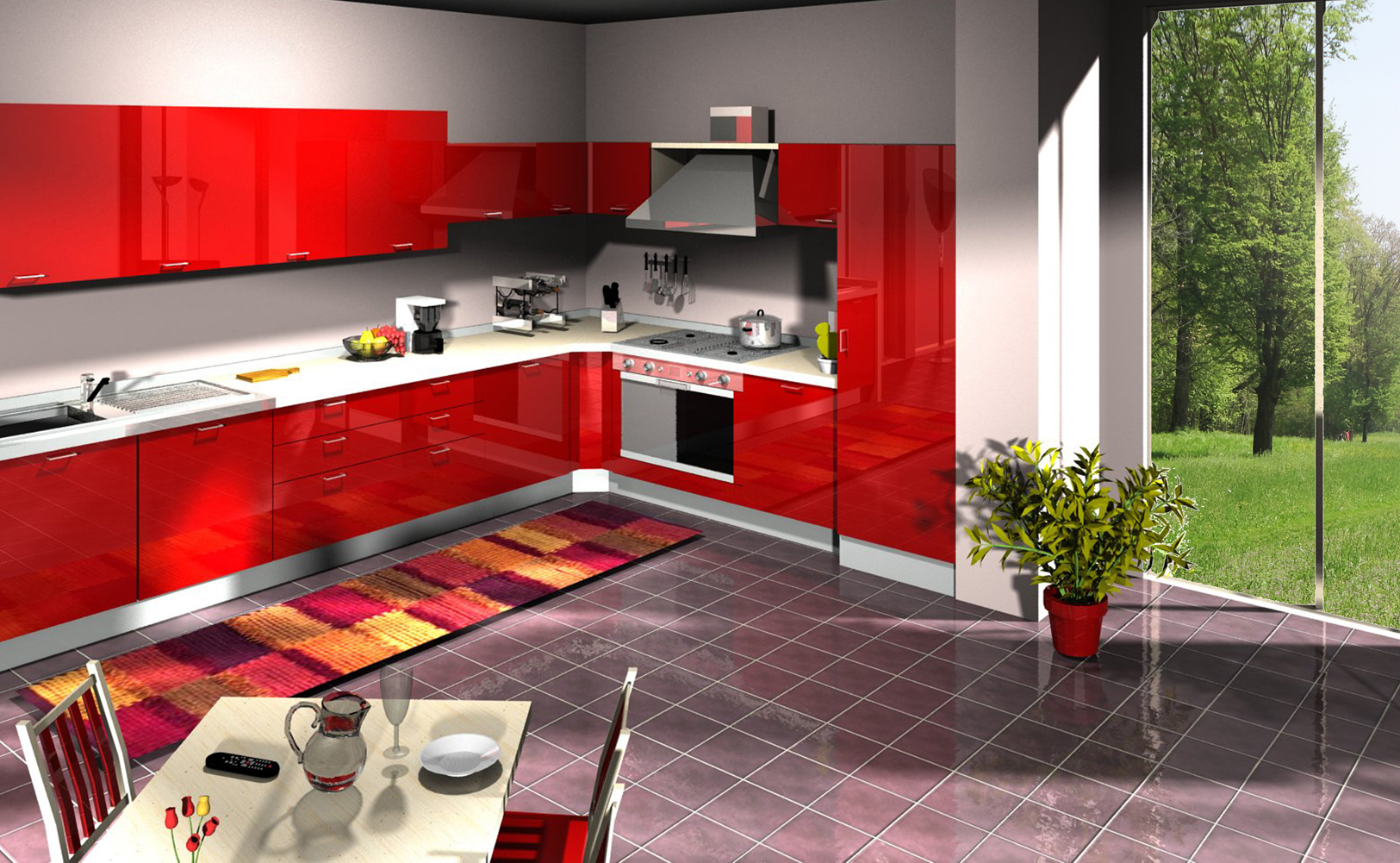 Best Tappeto Cucina Lungo Images  Home Interior Ideas