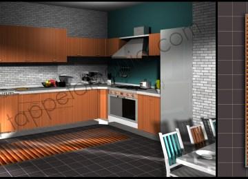 Tappeti Moderni Per Cucina | Tavolo Moderno Da Cucina Rottem Arredo ...