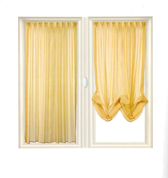 I nostri binari a pacchetto a finestra a sgancio rapido permettono di togliere e lavare le tende senza sfilare i cordini. Tenda A Pacchetto Tappezzeria Gr