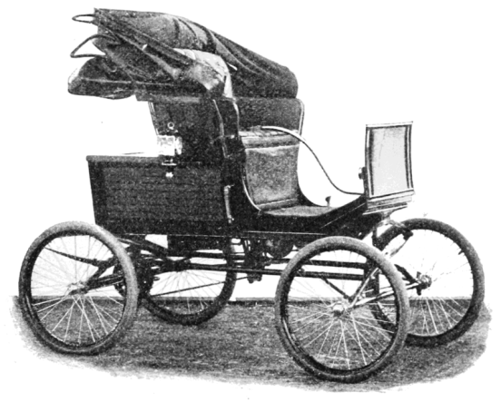 locomobile model circa 1900