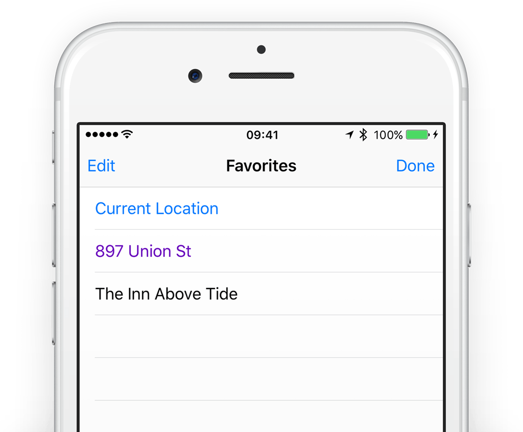 Guide: How to save favorite locations in the iPhone Maps