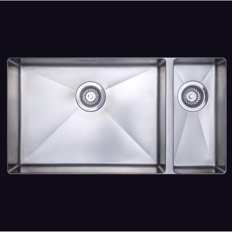 jazz 1 5 large bowl lh kitchen sink stainless steel