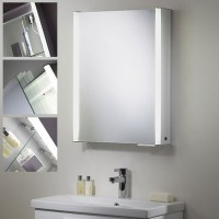 Roper Rhodes | Plateau Single Door Bathroom Cabinet With Light
