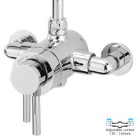 SL3 Exposed Round Shower Valve