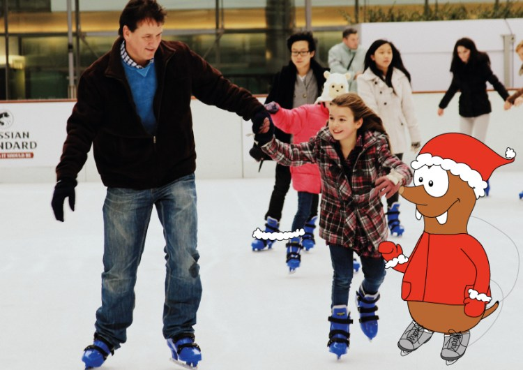 ice-skating rinks in London on Tapsy Blog