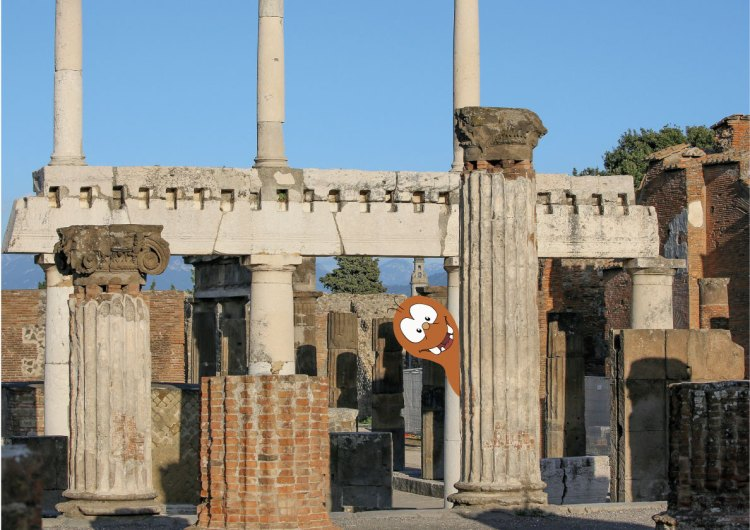 Tapsy Tours of Pompeii for families with kids