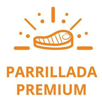 botón Parrillada Premium