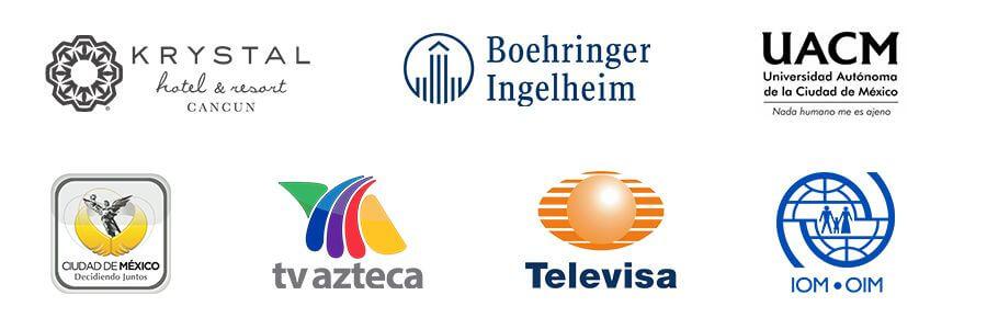 Algunas de las empresas que nos contratan
