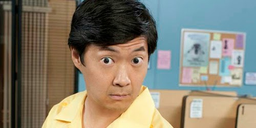 "Ken Jeong, delegado de Naciones Unidos en ""International incident"""