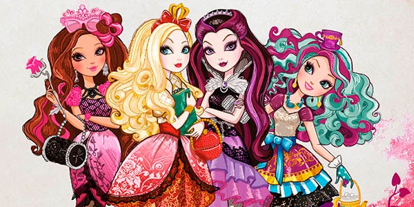 "La franquicia de ""Ever After High"" dará el salto a los cines"