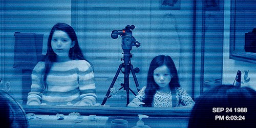 "Se retrasa el estreno de ""Paranormal activity 5"""