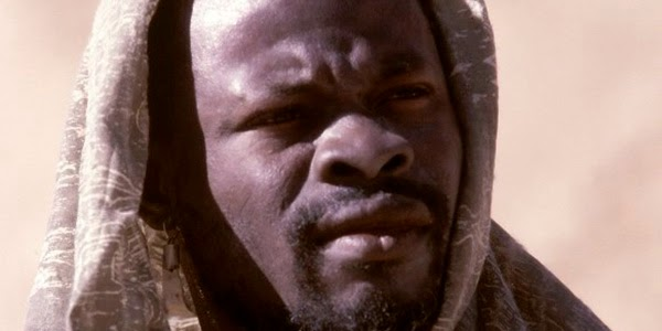 "Djimon Hounsou, mentor del Rey Arturo en ""Knights of the Round Table"""