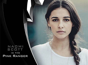 Naomi Scott será la Power Ranger de color rosa