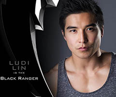Ludi Lin, el Power Ranger de color negro