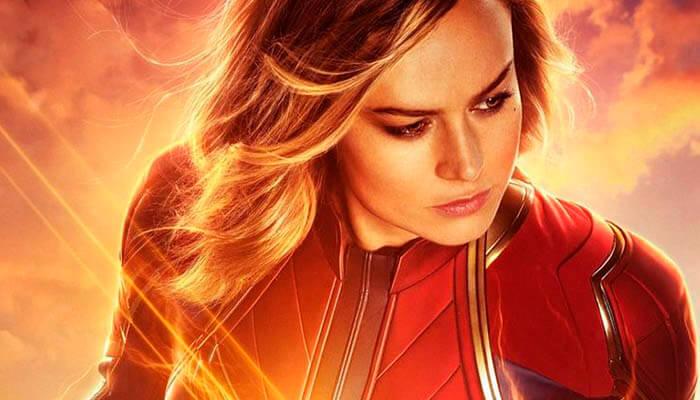 """""""Capitana Marvel"""" domina la taquilla USA"""